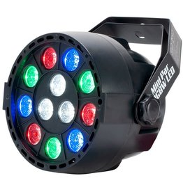 Eliminator MINI PAR UV LED 12 x1 Watt UV LED - Eliminator Lighting