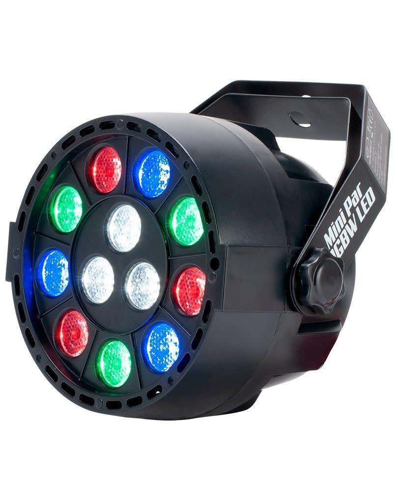 Eliminator Eliminator Lighting Mini Par RGBW LED 12 x1 Watt LED