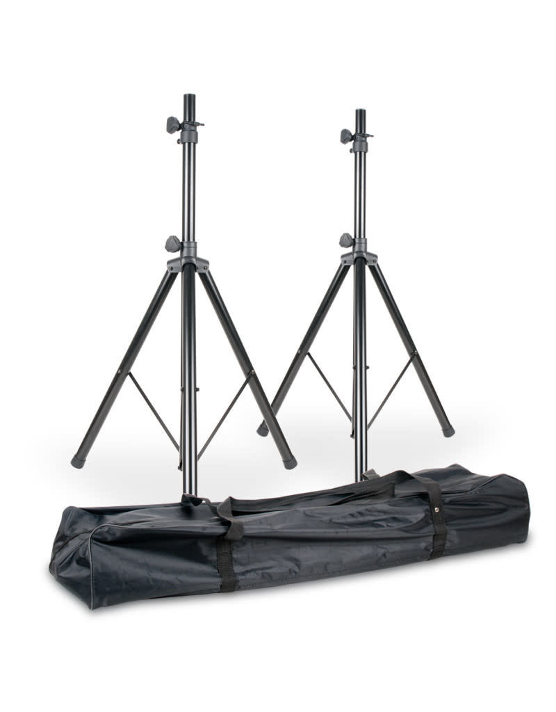 ADJ SPSX2B Two Speaker Stands w/ Carry Bag - ADJ