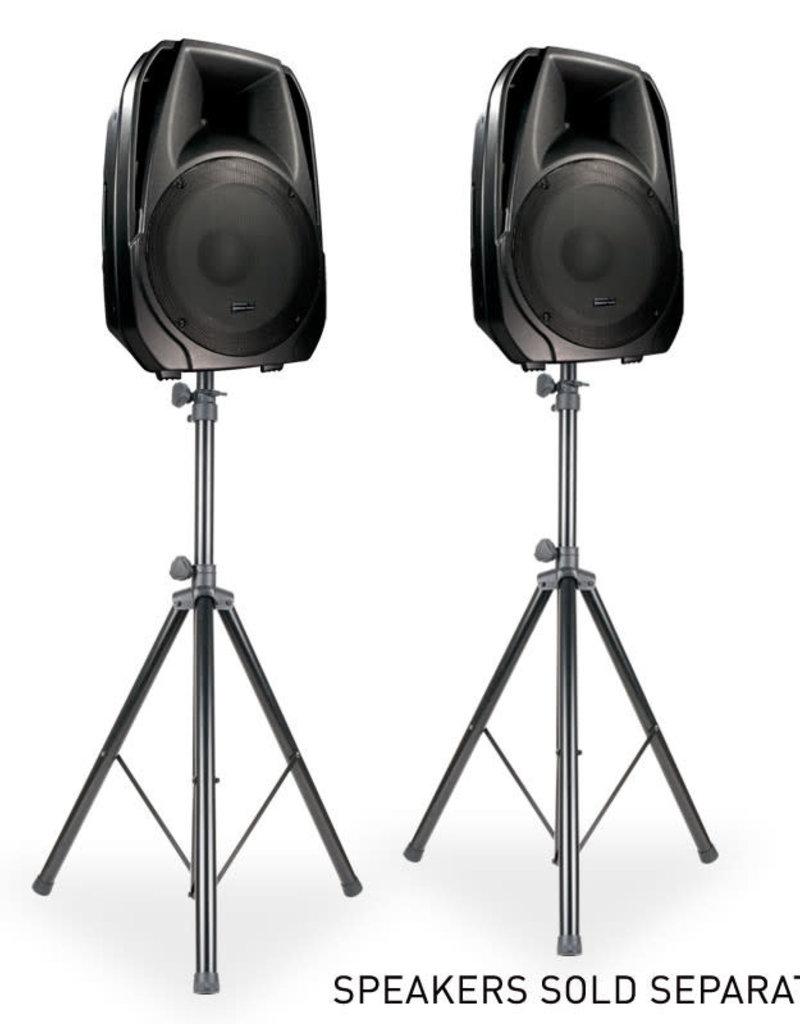 ADJ SPSX2B Two Speaker Stands w/ Carry Bag - ADJ
