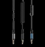 Reloop RHP-30 SILVER Professional DJ Headphones
