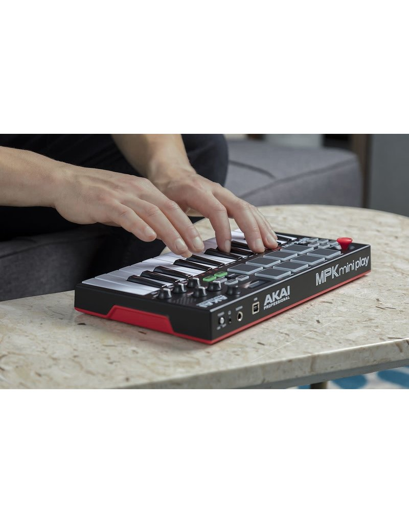 ***Limited Stock Shipping Mid August*** Akai MPK MINI Play Controller Keyboard With Sounds and Speaker