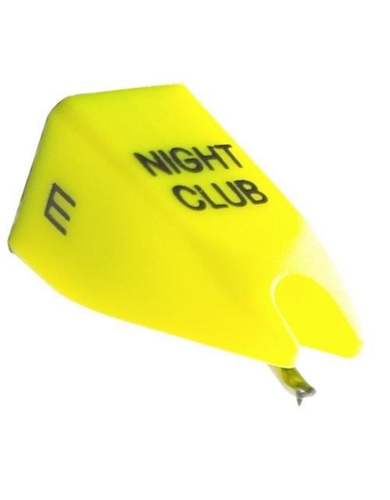 Ortofon Nightclub E OM/Concorde Mk1 Yellow Elliptical Replacement Stylus for Nightclub 1 (Single)
