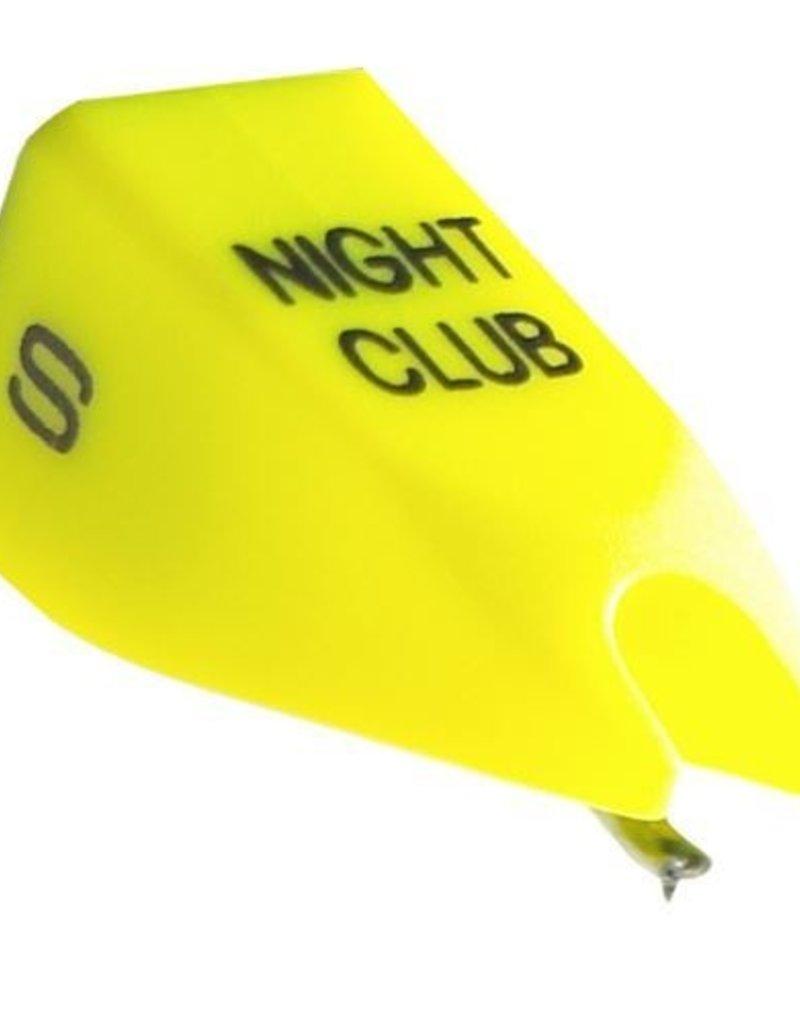 Ortofon Nightclub S OM/Concorde Mk1 Yellow Spherical Replacement Stylus for Nightclub 1 (Single)
