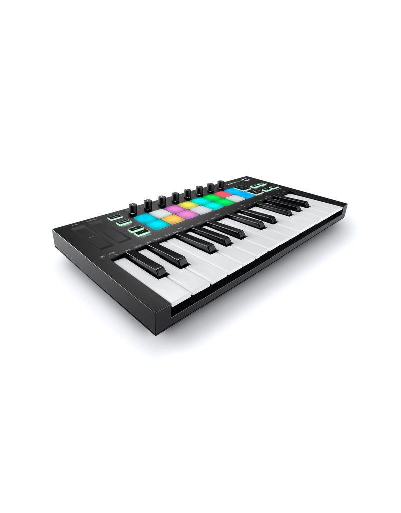 Novation Launchkey Mini Mk3 Compact USB MIDI Keyboard Controller for Ableton Live