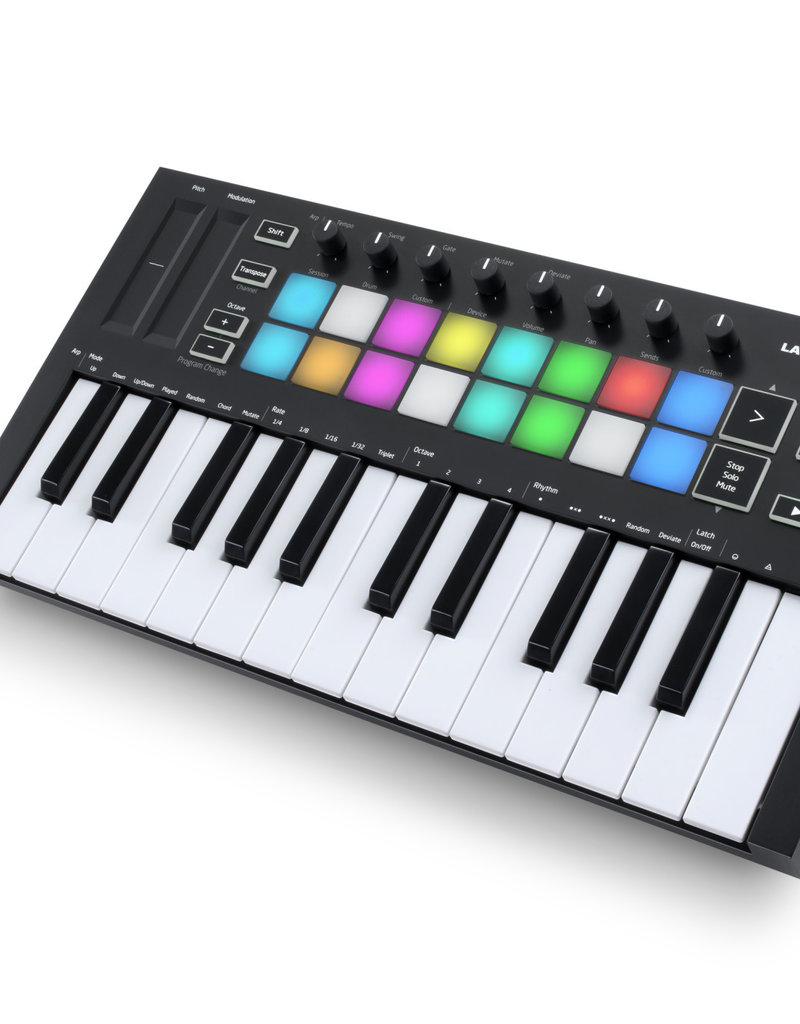 Novation Launchkey Mini Mk3 Compact USB MIDI Keyboard Controller for Ableton Live