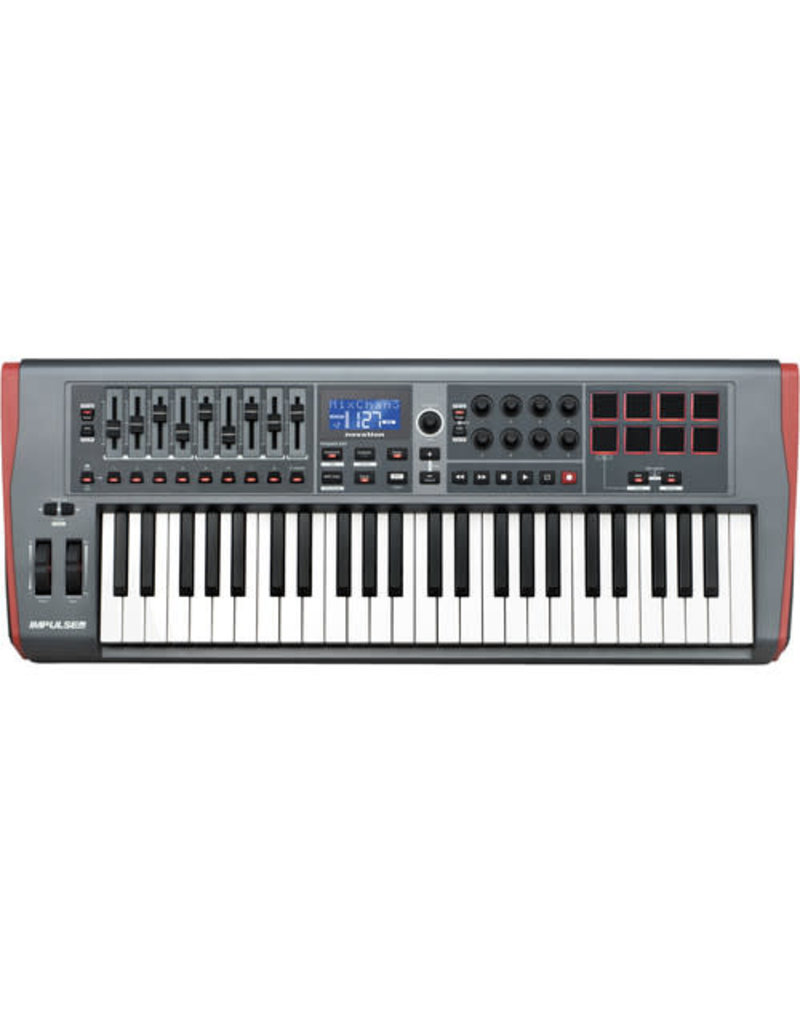 Novation Impulse 49 USB MIDI Keyboard Controller for Ableton Live