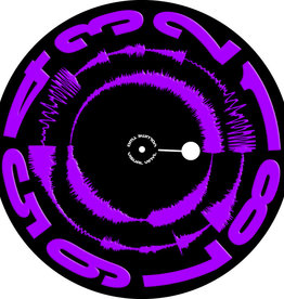"VISUAL VINYL VOL. 2 - 12""  Purple on Black  Scratch Record"