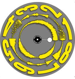 "VISUAL VINYL VOL. 2 - 12""  Yellow on Grey Scratch Record"