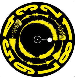 "VISUAL VINYL VOL. 2 - 12""  Yellow on Black  Scratch Record"