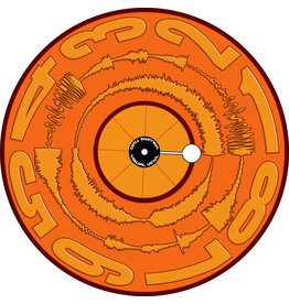 "VISUAL VINYL VOL. 2 - 12""  Mono Orange Scratch Record"