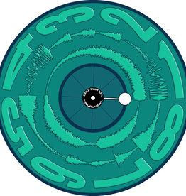 "Visual Vinyl Vol. 2:  12"" Mono GREEN Scratch Record"