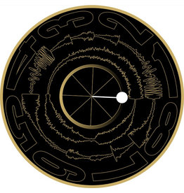 "BLACK with GOLD Visual Vinyl Vol. 2: 12"" Scratch Record"