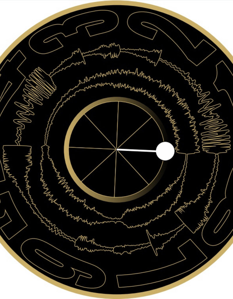 "BLACK with GOLD Visual Vinyl Vol. 2: 12"" Scratch Record"