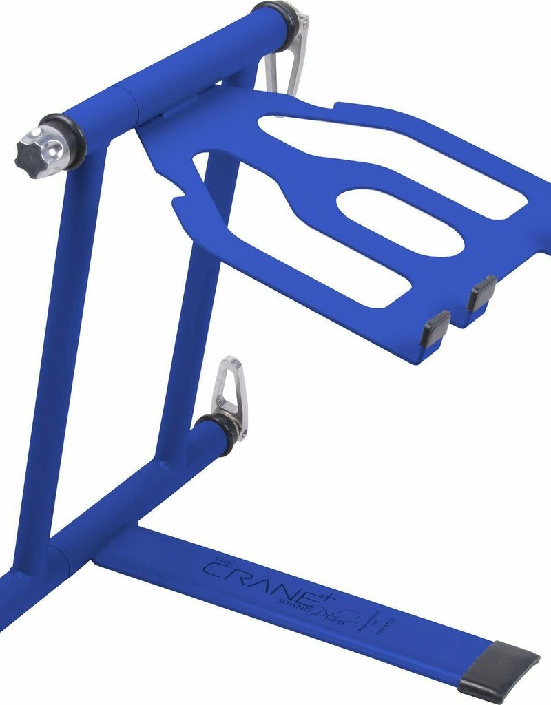 Crane Hardware Stand Plus - Folding Laptop Stand (Blue)