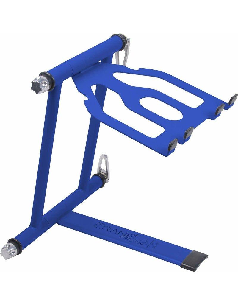 Crane Hardware Stand Plus - Folding Laptop Stand (Blue)