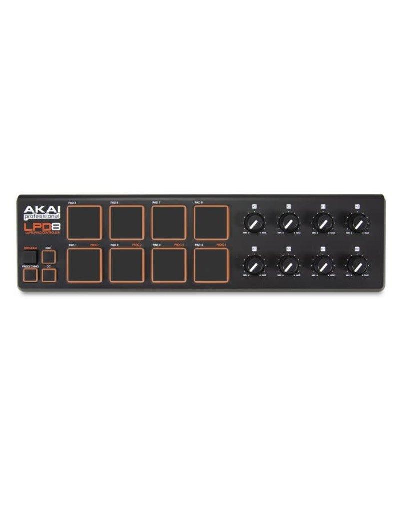 AKAI LPD8 Portable USB MIDI Pad Controller