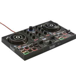 Hercules Hercules DJControl Inpulse 200 Controller w/ Built-in Sound Card, Dynamic Light Guides, IMA (Inteligent Music Assistant)
