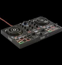 Hercules Hercules DJControl Inpulse 200 Controller w/ Built-in Sound Card, Dynamic Light Guides, IMA (Inteligent Music Assistant)