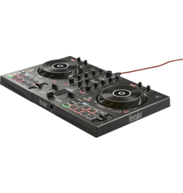 Hercules Hercules DJControl Inpulse 300 Controller w/ built-in sound card, dynamic light guides, IMA (Intelligent Music Assistant)