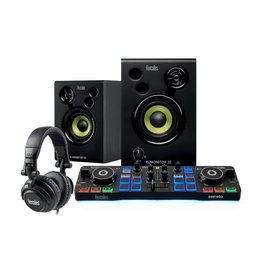 Hercules Hercules DJ Starter Kit - Includes Starlight, DJ Monitor 32, HDP DJ M40.1, Serato DJ Intro