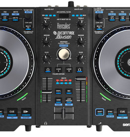 Hercules Hercules DJControl Jogvision Controller w/ Built-in Sound Card, Large Jog Wheels, AIR Control, Serato DJ Intro