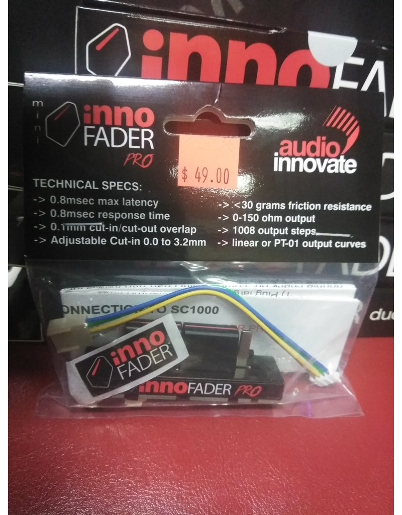 Audio Innovate Mini Innofader Pro PT for PT-01 Scratch