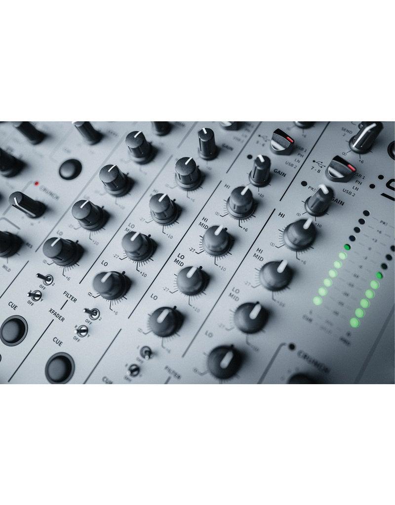 Allen & Heath Xone:96 6+2 Channel Analog DJ Mixer w/ Built-in Dual 32Bit/96kHz Sound Cards: Allen & Heath