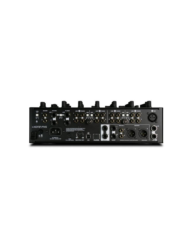 Allen & Heath Xone:PX5 4+1 Channel Analogue DJ Mixer with Effects: Allen & Heath