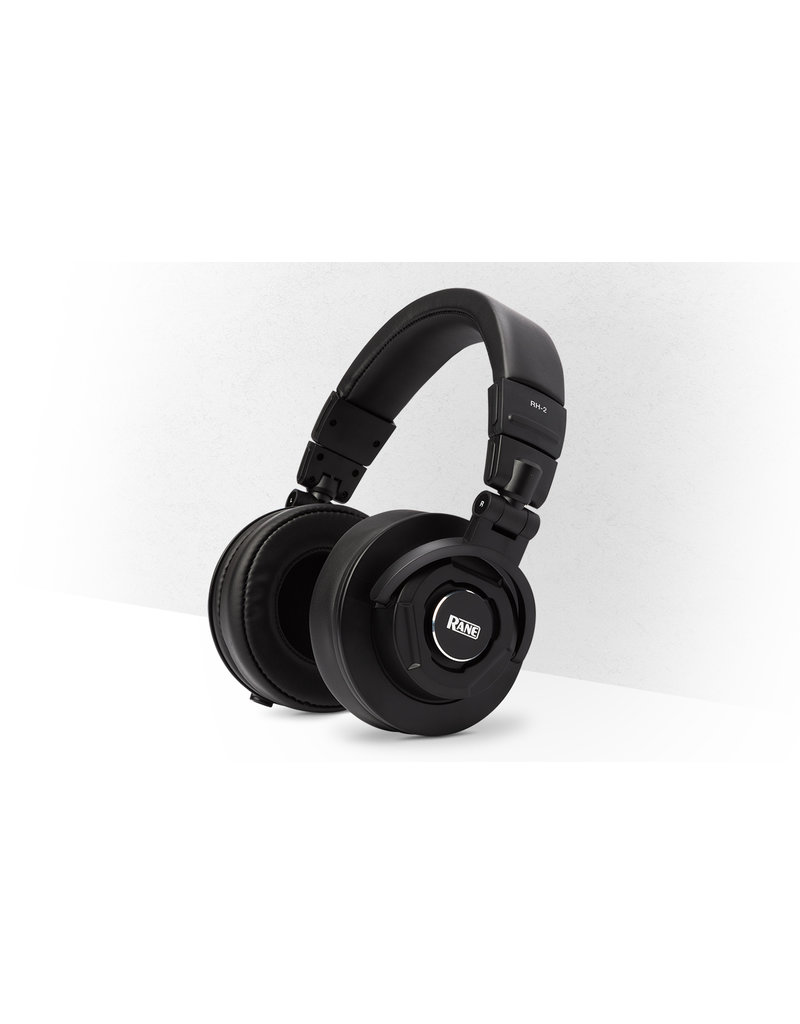 RH-2 50mm Over-Ear Monitoring Headphones - RANE