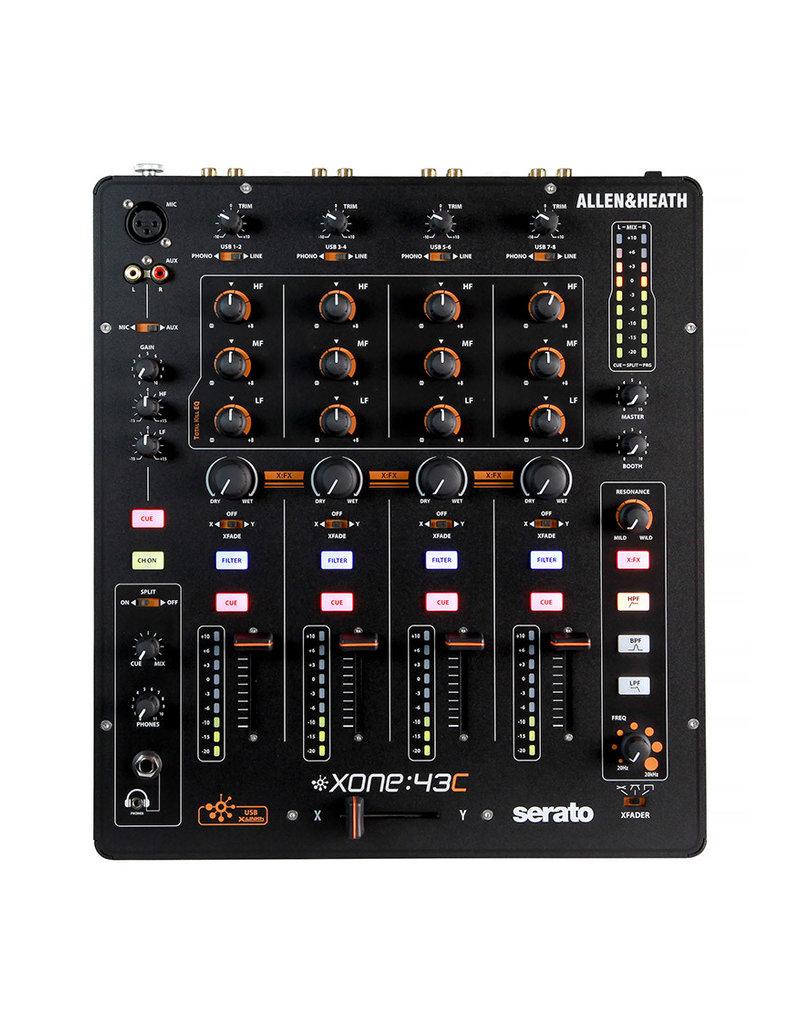 Allen & Heath Xone:43C Professional 4 Channel DJ Mixer w/ USB: Allen & Heath