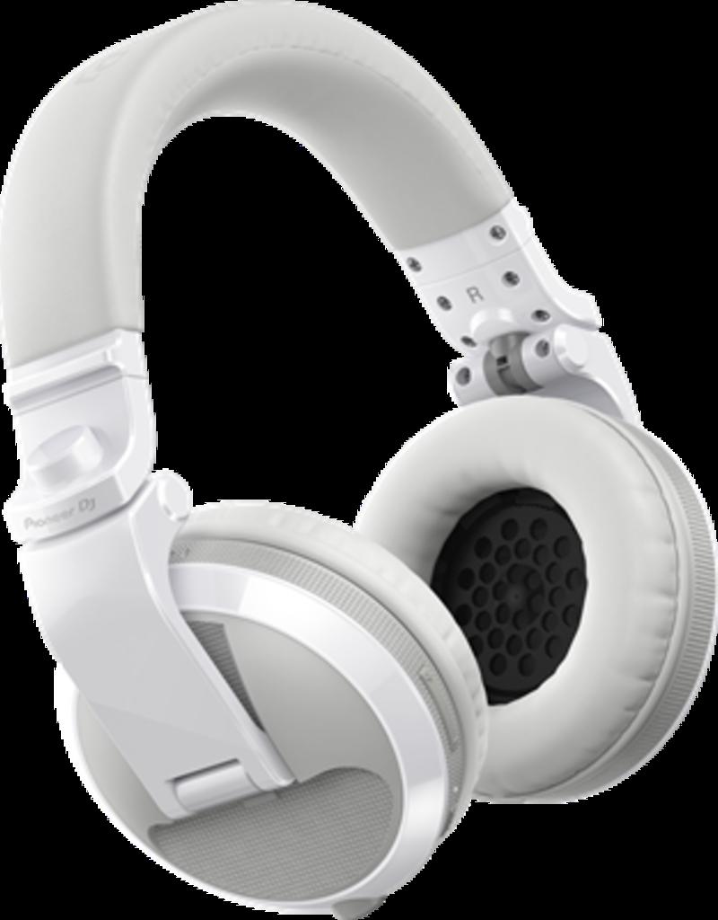 HDJ-X5BT-W White Over-ear DJ headphones with Bluetooth® wireless technology - Pioneer DJ