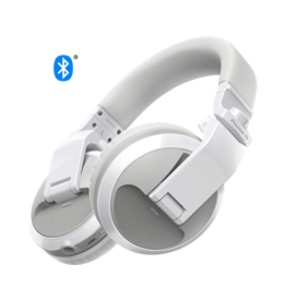 HDJ-X5BT-W White Over-ear DJ headphones with Bluetooth® wireless technology - Pioneer DJ