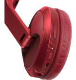 HDJ-X5BT-R Red Over-Ear DJ Headphones w/ Bluetooth® Wireless Technology - Pioneer DJ