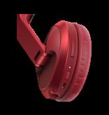 HDJ-X5BT-R Red Over-Ear DJ Headphones w/ Bluetooth® Wireless Technology - Pioneer DJ