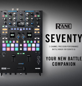 ***Limited Stock Shipping In September*** RANE SEVENTY Battle Mixer with FREE Pair of Visual Vinyl With Purchase