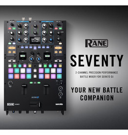 *Pre-Order* Rane SEVENTY 70 Battle Mixer with FREE Pair of Visual Vinyl With Purchase