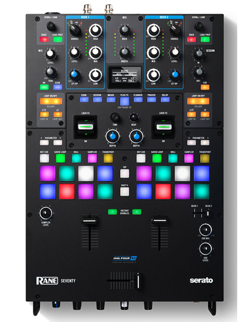 *Pre-Order* RANE SEVENTY Battle Mixer with FREE Pair of Visual Vinyl With Purchase