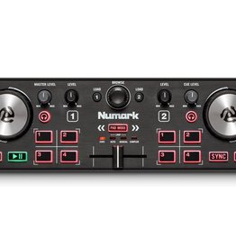 Numark DJ2GO2 Touch Pocket-Sized DJ Controller w/ Capacitive Touch Jog Wheels