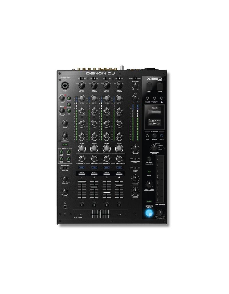 Denon DJ X1850 Prime Professional 4-Channel DJ Club Mixer