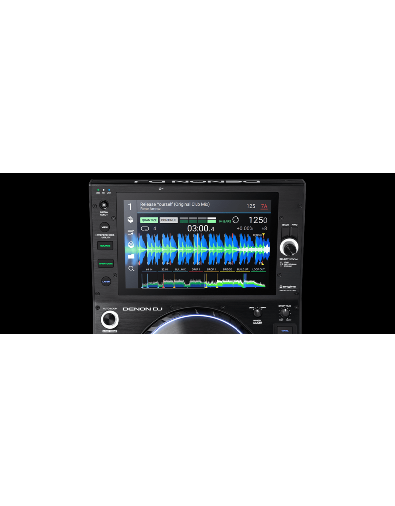 "Denon DJ SC6000 Prime Professional DJ Media Player with 10.1"" Touchscreen and WiFi Music Streaming"