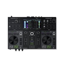 "***Limited Stock Shipping In September*** Denon DJ Prime GO 2-Deck Rechargeable Smart DJ Console with 7"" Touchscreen"