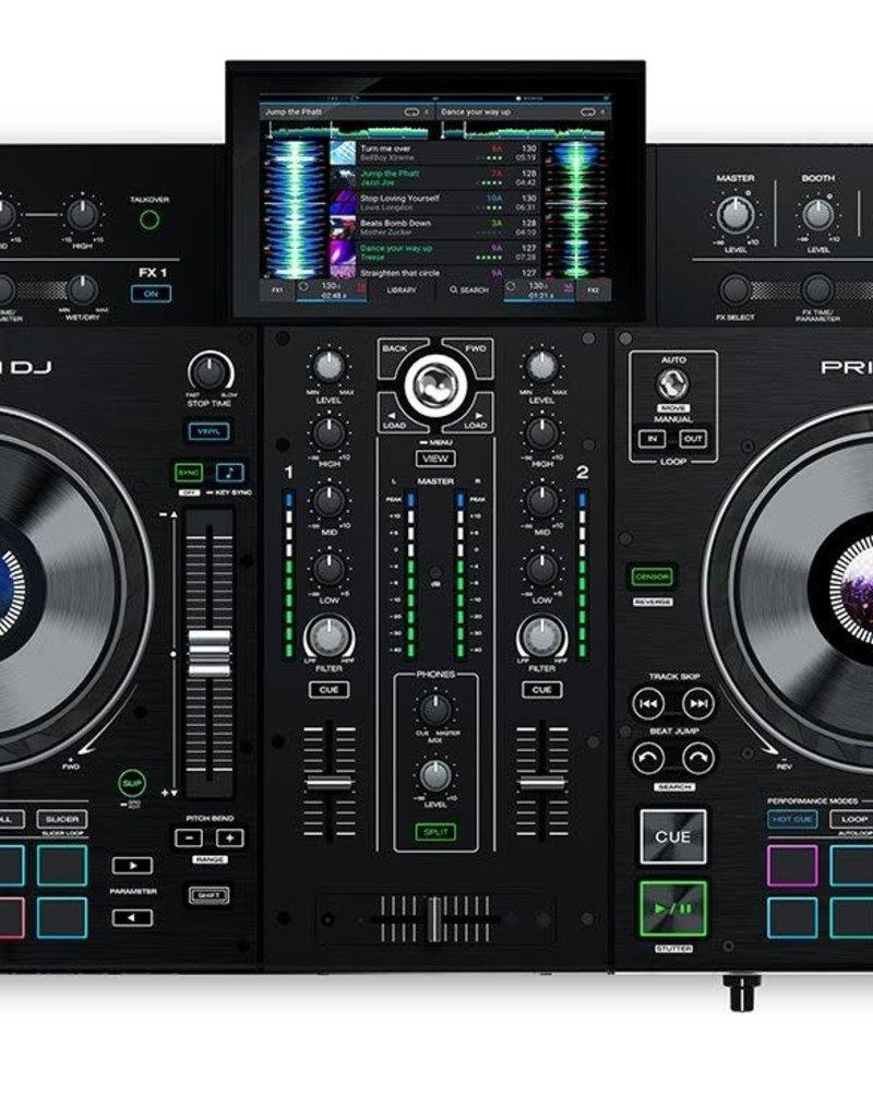 """Denon DJ Prime 2 2-Deck Standalone DJ Console with 7"""" Touchscreen"""