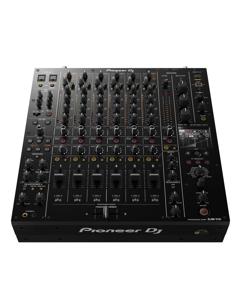 ***Limited Stock Shipping Mid July*** DJM-V10 6-Channel Professional DJ Mixer - Pioneer DJ