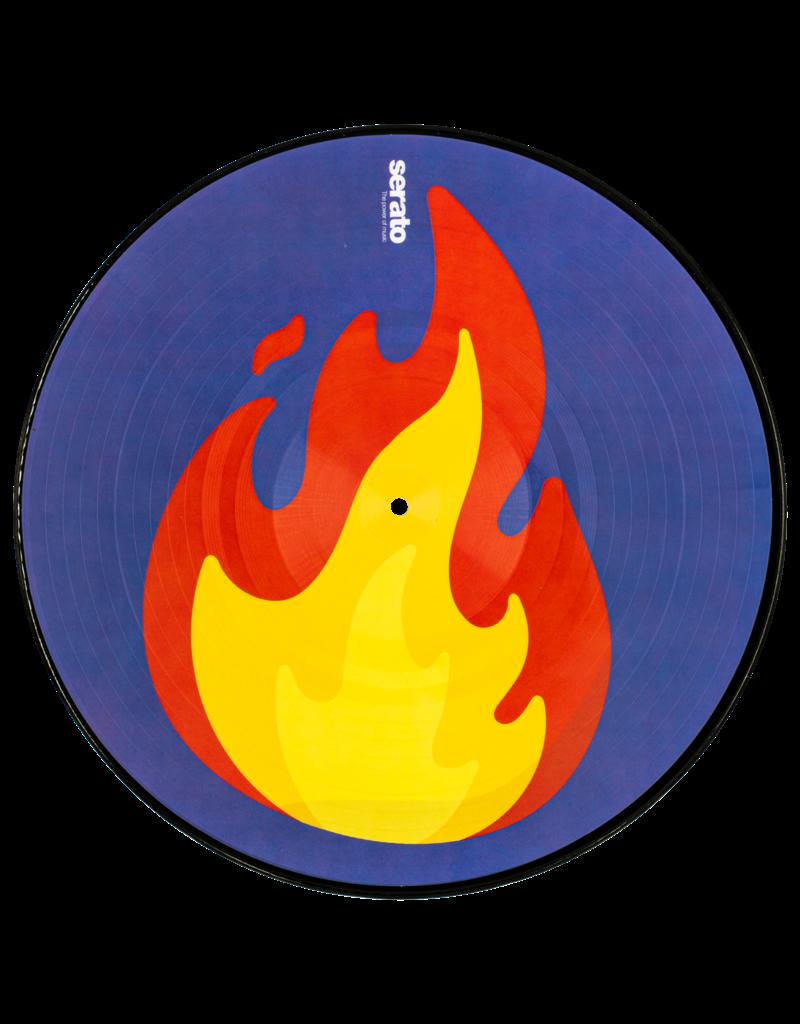 "Serato Flame/Record Emoji Series #2: 12"" Control Vinyl (Pair)"