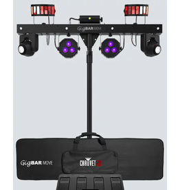Chauvet DJ Chauvet DJ Gigbar Move Pack-n-Go 5-in-1 Lighting System