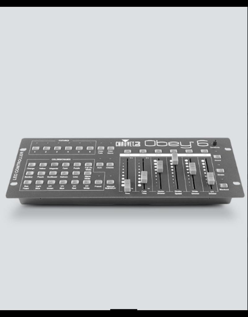Chauvet DJ Chauvet DJ Obey 6 DMX Controller up to 6 Channels per Fixture