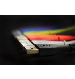 DJ Tech Tools Chroma Cables Audio Optimized USB-A to USB-B Cables