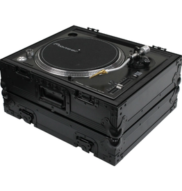 Odyssey Heavy Duty Universal Turntable Flight Case All Black