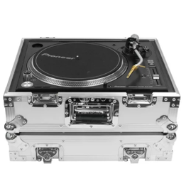 Odyssey Heavy Duty Universal Turntable Flight Case White